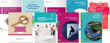 kuva suomenkielisistä julkaisuista